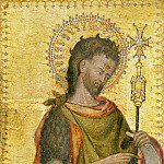 Philadelphia Museum of Art - Antonio Orsini (Master of the Carminati Coronation), Italian (active Ferrara), documented 1432-1491 -- Saint John the Baptist