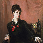 Philadelphia Museum of Art - John Singer Sargent, American (active London, Florence, and Paris), 1856-1925 -- Portrait of Frances Sherborne Ridley Watts
