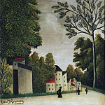Philadelphia Museum of Art - Henri-Julien-Félix Rousseau, French, 1844-1910 -- Village Street