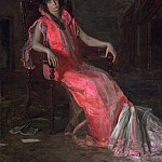 An Actress (), Thomas Eakins