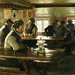 Philadelphia Museum of Art - Peter Severin Krøyer, Danish, 1851-1909 -- Interior of a Tavern