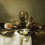 Philadelphia Museum of Art - Willem Claesz. Heda, Dutch (active Haarlem), 1594-1680/82 -- Still Life with a Ham and a Roemer