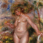 Pierre-Auguste Renoir, French, 1841-1919 -- Bather, Philadelphia Museum of Art