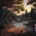James Peale, American, 1749-1831 -- View of the Wissahickon, Philadelphia Museum of Art