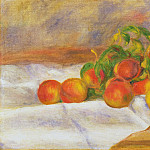 Pierre-Auguste Renoir, French, 1841-1919 -- Peaches, Philadelphia Museum of Art