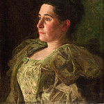 Thomas Eakins, American, 1844-1916 -- Portrait of Mrs. James Mapes Dodge , Philadelphia Museum of Art
