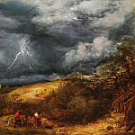 John Linnell, English, 1792-1882 -- The Storm , Philadelphia Museum of Art