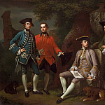 Philadelphia Museum of Art - Nathaniel Dance, English, 1735-1811 -- Portrait of James Grant of Grant, John Mytton, the Honorable Thomas Robinson, and Thomas Wynne)