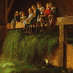 Philadelphia Museum of Art - Eastman Johnson, American, 1824-1906 -- Barn Swallows