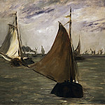 Philadelphia Museum of Art - Édouard Manet, French, 1832-1883 -- Marine in Holland