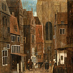 Jacob Vrel, Dutch , active c. 1654-c. 1662 -- Street, Philadelphia Museum of Art