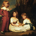 George Romney, English, 1734-1802 -- Portrait of Mr. Adye's Children, Philadelphia Museum of Art