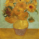 Vincent Willem van Gogh, Dutch, 1853-1890 -- Sunflowers, Philadelphia Museum of Art