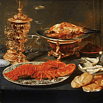 Attributed to Frans Snyders, Flemish , 1579-1657 -- Still Life with a Lobster, Philadelphia Museum of Art