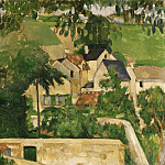 Philadelphia Museum of Art - Paul Cézanne, French, 1839-1906 -- Quartier Four, Auvers-sur-Oise (Landscape, Auvers)