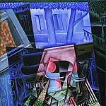 Still Life before an Open Window, Juan Gris