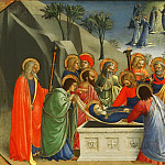 Fra Angelico , also called Fra Giovanni da Fiesole, Italian , first securely documented by 1417, died 1455 -- The Dormition of the Virgin, Philadelphia Museum of Art