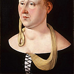 Attributed to Jacometto Veneziano, Italian active c. 1472, died c. 1497 -- Portrait of a Lady, Philadelphia Museum of Art