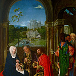 Master of Hoogstraeten, Netherlandish , active c. 1485-c. 1520 -- The Adoration of the Magi, Philadelphia Museum of Art