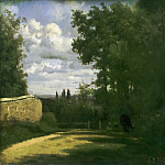 Philadelphia Museum of Art - Jean-Baptiste-Camille Corot, French, 1796-1875 -- Ville d'Avray