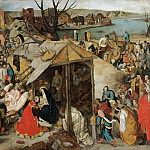 Pieter Brueghel the Younger, Flemish , 1564-1637/38 -- The Adoration of the Magi, Philadelphia Museum of Art