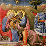 Paolo Schiavo , Italian , 1397-1478 -- The Adoration of the Magi, Philadelphia Museum of Art