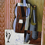 Juan Gris , Spanish, 1887-1927 -- Violin, Philadelphia Museum of Art