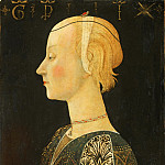Scheggia , Italian , 1406-1486 -- Portrait of a Lady, Philadelphia Museum of Art