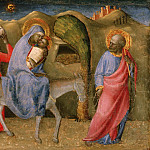 Philadelphia Museum of Art - Paolo Schiavo (Paolo di Stefano Badaloni), Italian (active Florence and environs), 1397-1478 -- The Flight into Egypt