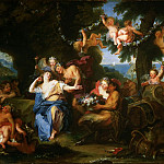 Philadelphia Museum of Art - Antoine Coypel, French, 1661-1722 -- Bacchus and Ariadne on the Isle of Naxos