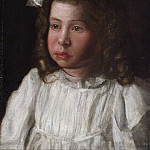 Thomas Eakins, American, 1844-1916 -- Portrait of a Little Girl, Philadelphia Museum of Art