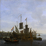 Philadelphia Museum of Art - Lieve Pietersz. Verschuier, Dutch (active Rotterdam), c. 1630-1686 -- Marine