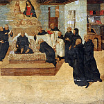Philadelphia Museum of Art - Niccolò Giolfino, Italian (active Verona), 1476-1555 -- The Death of the Blessed Filippo Benizzi
