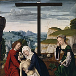 Gerard David, Netherlandish , first documented 1484, died 1523 -- Lamentation, Philadelphia Museum of Art