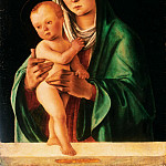 Philadelphia Museum of Art - Lorenzo di Ottavio Costa, Italian (active Bologna, Ferrara, and Mantua), c. 1460-1535 -- Virgin and Child