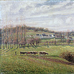 Camille Pissarro, French, 1830-1903 -- Summer Landscape, Eragny, Philadelphia Museum of Art