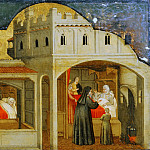 Philadelphia Museum of Art - Attributed to Martino da Verona (Martino di Alberto), Italian, died 1412, Verona -- Saint Eligius's Mother Told of Her Son's Future Fame