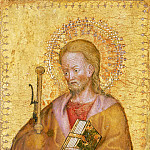 Philadelphia Museum of Art - Antonio Orsini (Master of the Carminati Coronation), Italian (active Ferrara), documented 1432-1491 -- Saint James Major