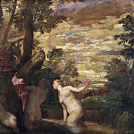 Philadelphia Museum of Art - Paolo Veronese (Paolo di Gabriele Caliari), Italian (active Verona, Venice, and environs) 1528-1588 -- Diana and Actaeon