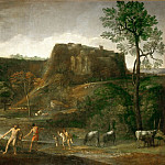 Domenichino -- Hercules drags Cacus from his cave, Part 3 Louvre