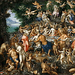 Part 3 Louvre - Hendrik de Clerck -- The Marriage of Peleos and Thetis, or The Marriage Feast