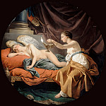 Louis Jean François Lagrenée -- Psyche Wakes the Sleeping Amor, Part 3 Louvre