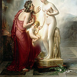 Anne-Louis Girodet de Roucy-Trioson -- Pygmalion and Galatea, Part 3 Louvre