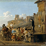 Karel Dujardin -- The Italian Charlatans, Part 3 Louvre