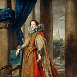 Part 3 Louvre - Anthony van Dyck -- Portrait of a Woman