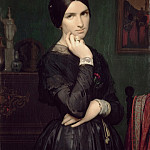 Part 3 Louvre - Hippolyte-Jean Flandrin -- Portrait of Madame Flandrin, the Artist's Wife