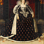 Part 3 Louvre - Frans Pourbus the younger -- Marie de'Medici (1573-1642), Queen of France