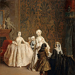 Pietro Longhi -- The Presentation, Part 3 Louvre
