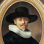 Part 3 Louvre - Rembrandt van Rijn -- Portrait of Albert Cuyper