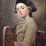 Nicolas Bernard Lépicié -- The Young Draftsman, Part 3 Louvre